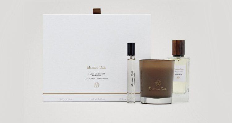 El estuche de regalo incluye el formato original, un vial 10 ml. y una vela aromática