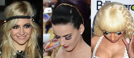 Pixie Lott, Katy Perry y Nicki Minaj