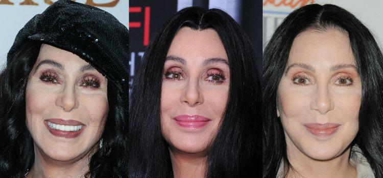 A pesar de optar por una forma arqueada, Cher apuesta por las cejas pobladas