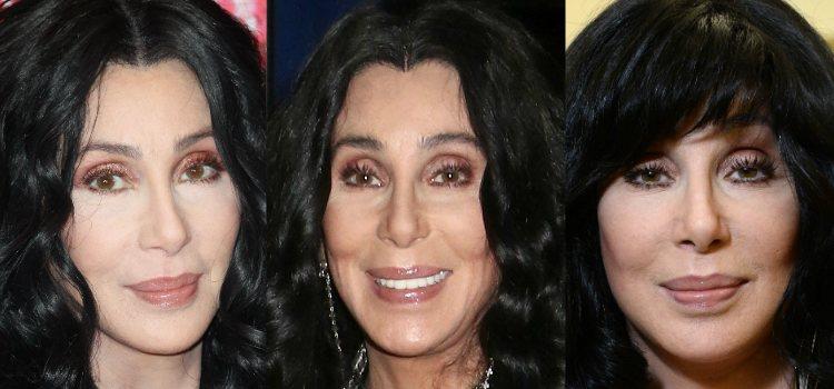 Cher riza sus pestañas para abrir la mirada