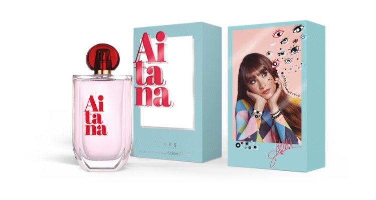 'Aitana', el nuevo perfume femenino de la cantante Aitana Ocaña