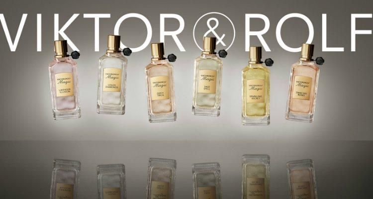 Los seis perfumes originales de la colección 'Magic' de Viktor & Rolf