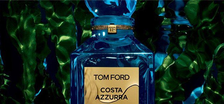 'Costa Azzurra', fragancia que reediciona 'Costa Azzurra Acqua', lo nuevo de Tom Ford