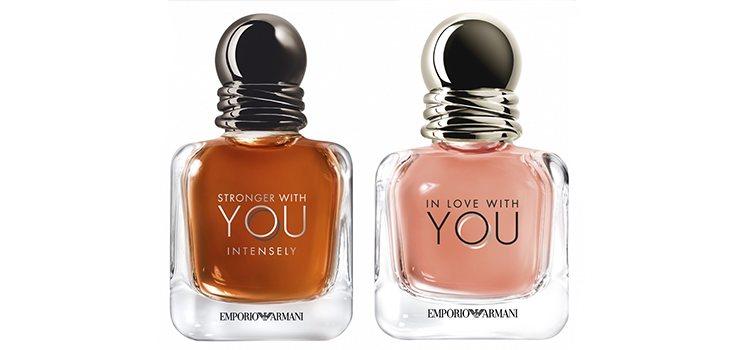 Nuevas fragancias de la línea 'Emporio Armani' de Giorgio Armani