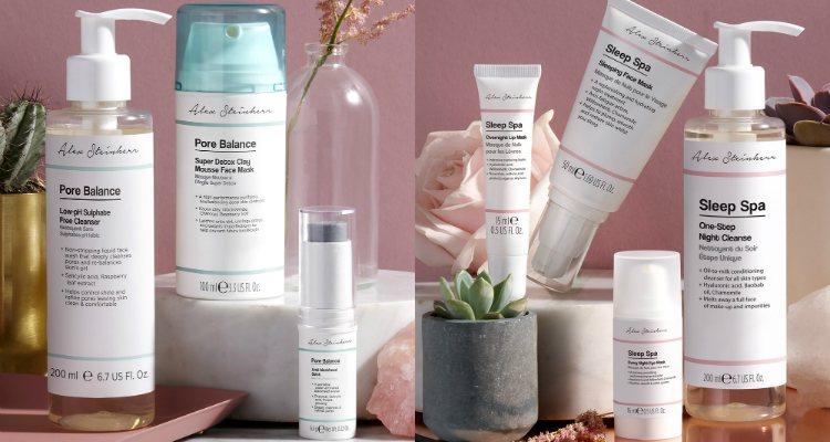 Los productos de las líneas 'Pore Balance' y 'Sleep Spa' de Alex Steinherr x Primark