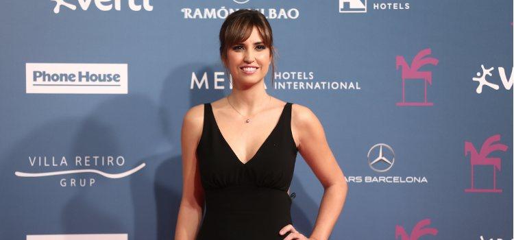 La presentadora Sandra Sabatés con un flequillo abierto en tendencia