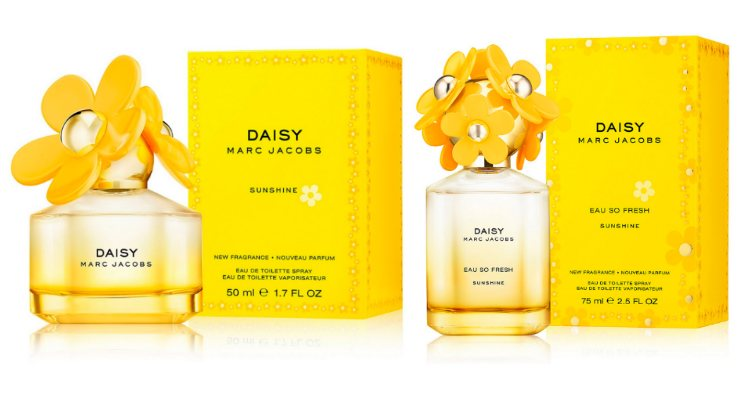 Las fragancias 'Daisy Sunshine' y 'Daisy Eau So Fresh Sunshine' de Marc Jacobs