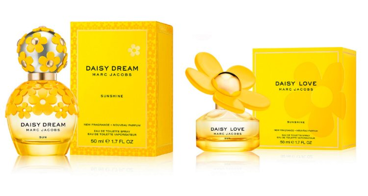 Las fragancias 'Daisy Dream Sunshine' y 'Daisy Love Sunshine' de Marc Jacobs