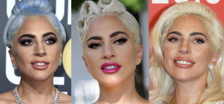 Lady Gaga apuesta por unas cejas pobladas y muy oscuras