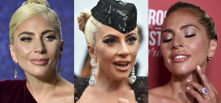 Lady Gaga opta por una base de cobertura media alta que cree un lienzo perfecto