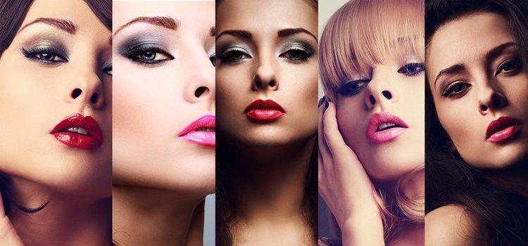 Para los maquillajes elaborados es aconsejable eliminar brillos