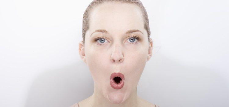Practicar ejercicios para que así los músculos del rostro se vean ejercitados