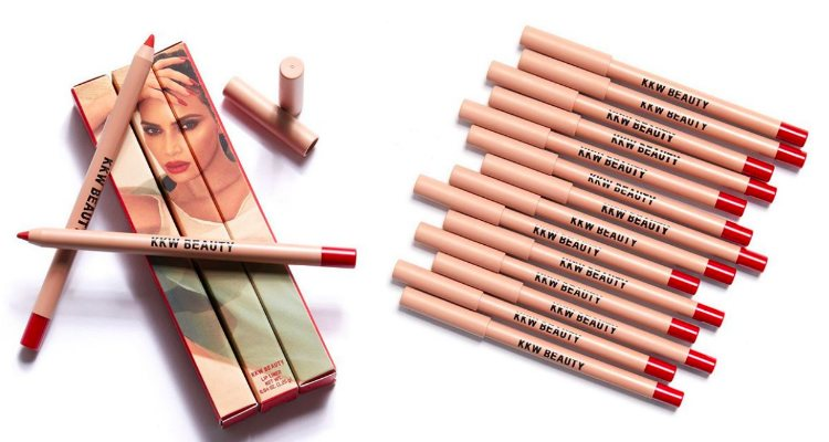 'Red 1 Crème Lip Liner', el nuevo delineador labial en color rojo de KKW Beauty