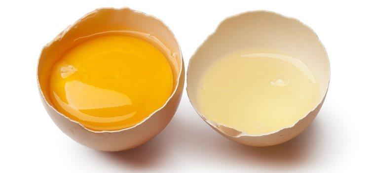 El huevo es un gran hidratante