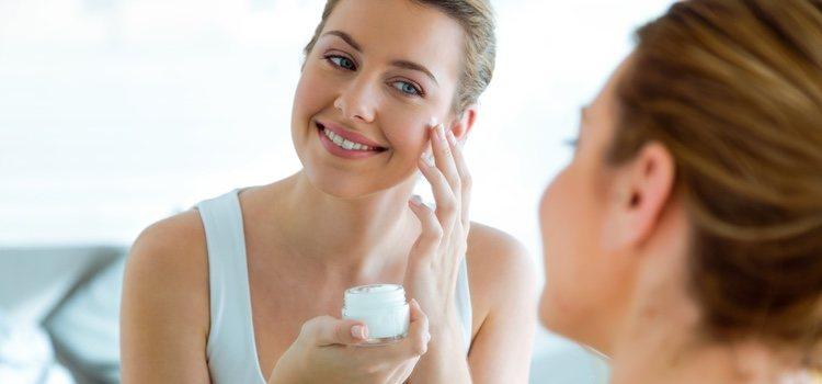 Tendrás un crema hidratante especial dependiendo de tu tipo de piel
