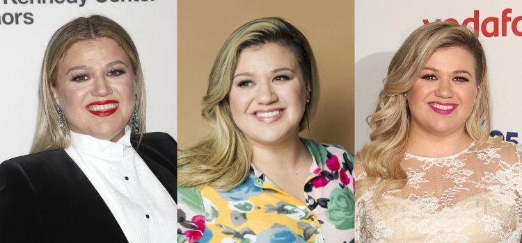 Kelly Clarkson opta por unas cejas rubias y definidas