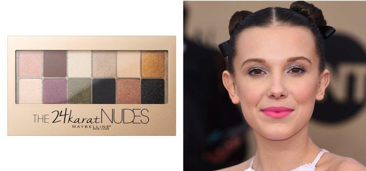 Maybelline destaca por sus paletas de ojos low cost