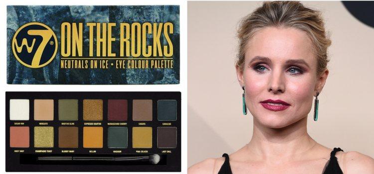 'On the Rocks', de W7, es una de las mejores paletas de sombras de ojos low cost