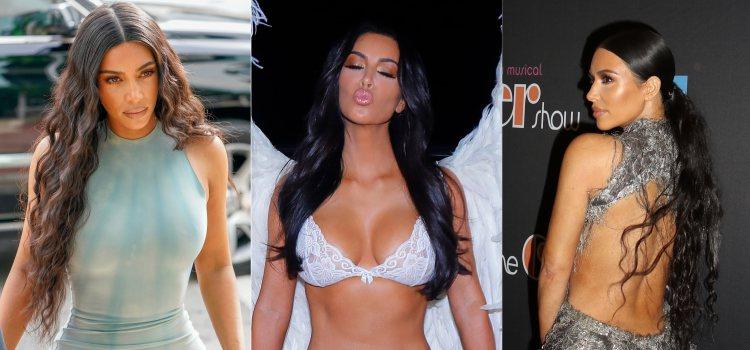 Kim Kardashian apuesta por una melena XXL