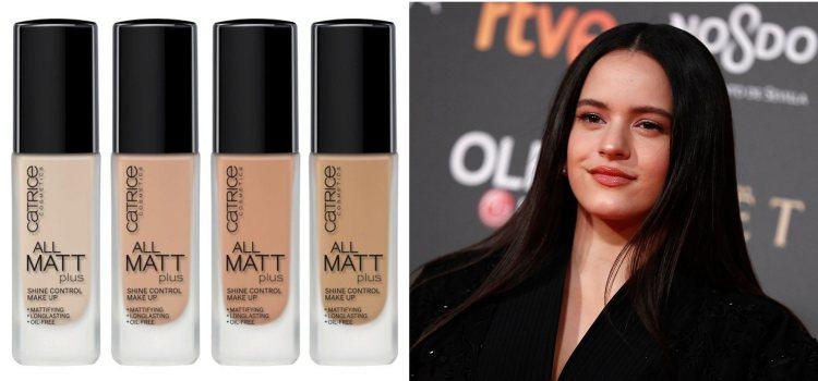 Rosalía aparece con un maquillaje sencillo y brillante en los Premios goya 2019