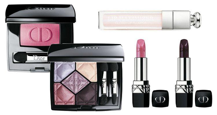 Las sombras de ojos y los labiales de la colección 'Rising Stars' de Dior