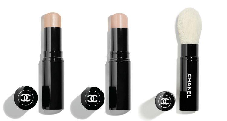 Los iluminadores 'Baume Essential' y la brocha 'Pinceau Illuminateur Rétractable' de Chanel