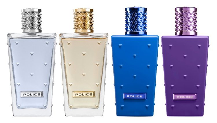 Perfumes 'Police Legend for Woman', 'Police Legend for Man', 'Police Shock in Scent for Women' y 'Police Shock in Scent for Men' de Police