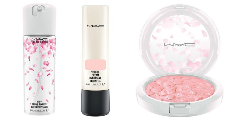 Los cosméticos para el rostro de la colección 'Boom, Boom, Bloom' de MAC