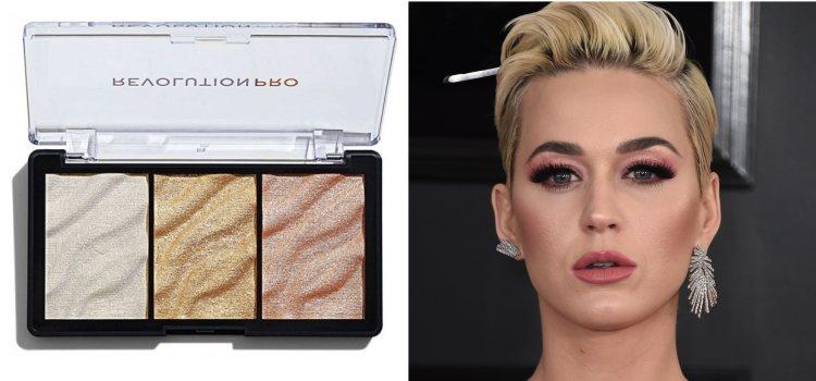 Katy Perry acude a los Premios Grammy con un maquillaje brillante