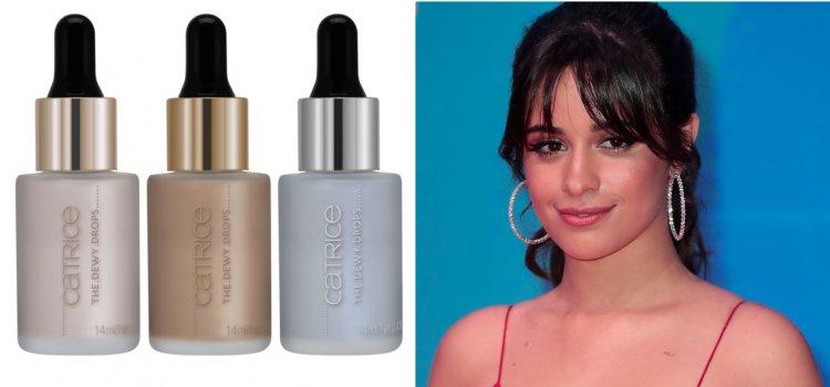 Camila Cabello suele lucir tonos rosados y dorados en su make up