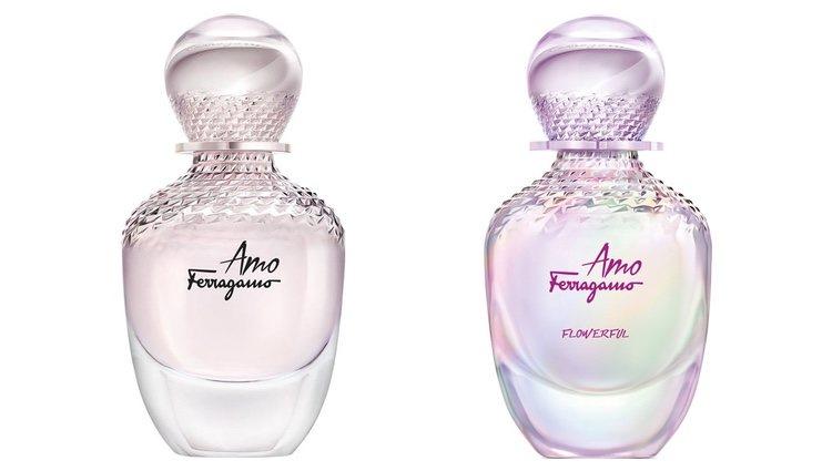 Perfumes 'Amo Ferragamo' y 'Amo Ferragamo Flowerful' de Salvatore Ferragamo