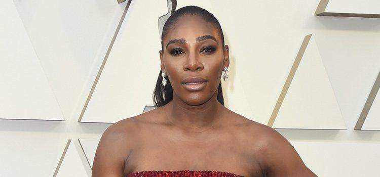 La tenista Serena Williams en la gala de los Premios Oscar