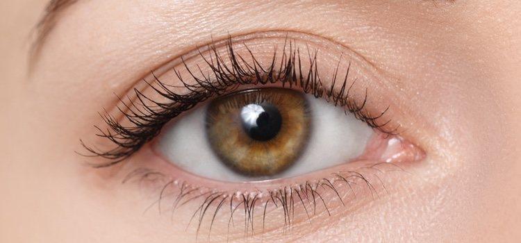 El delineador verde resaltara los ojos marrones y avellana