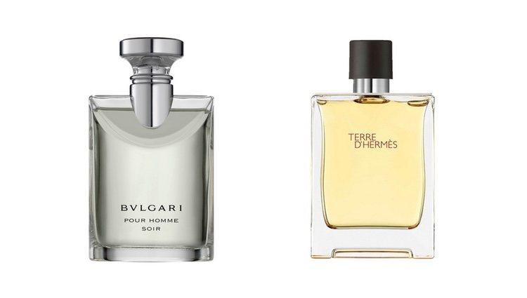 Perfumes Soir de Bvlgari y Terre D'Hermès