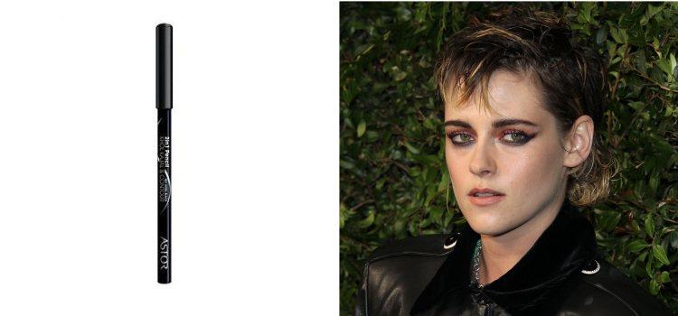 Kristen Stewart, la actriz que suele añadir un eyeliner a su maquillaje de ojos