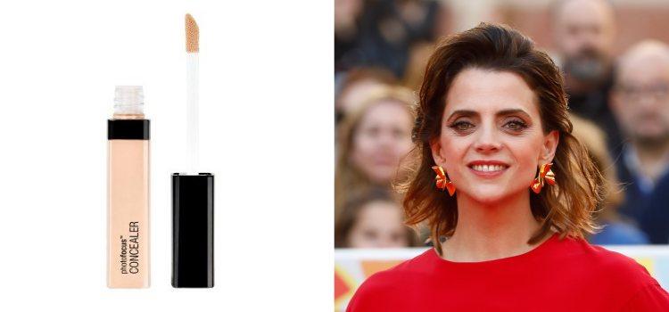 La actriz Macarena Gómez apuesta por un maquillaje radiante en el Festival de Málaga de 2019