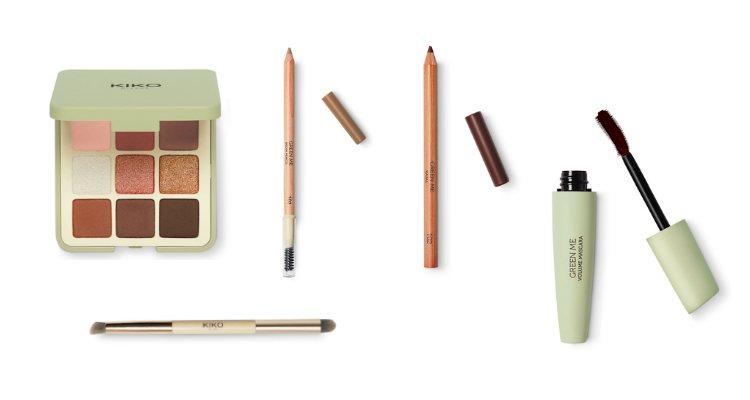 Los cosméticos para ojos de la colección 'Green Me' de Kiko