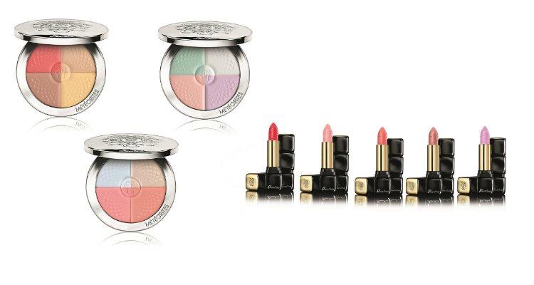 Los 'Météorites' compactos y las barras de labios de la colección 'Morning Love' de Guerlain