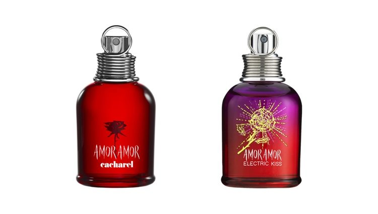 Perfumes 'Amor Amor' y 'Amor Amor electric Kiss' de Cacharel
