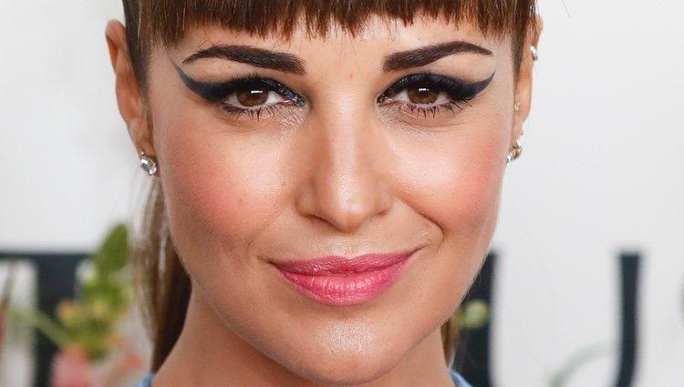 Paula Echevarría se pasa con el eyeliner