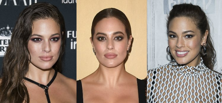 Ashley Graham apuesta por unas cejas gruesas y arqueadas