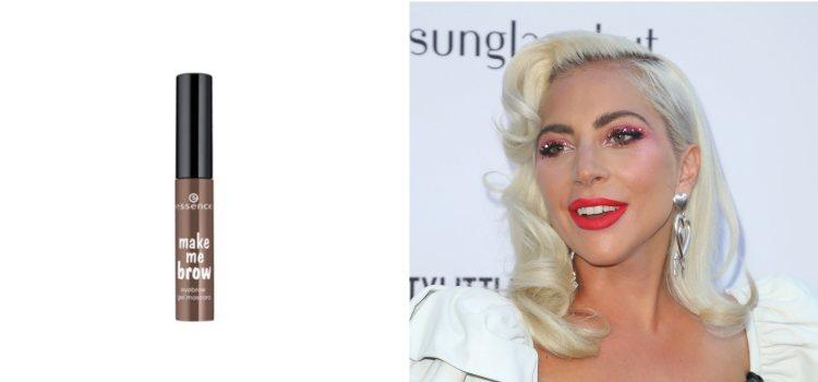 La cantante Lady Gaga luce unas cejas marcadas e intensas