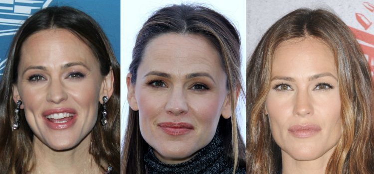Jennifer Garner opta por unas cejas bien definidas de vello corto