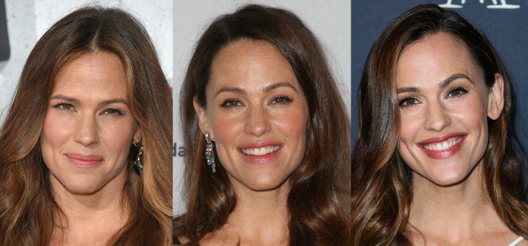 Para darle color a las mejillas la actriz tiende a los tonos tierra