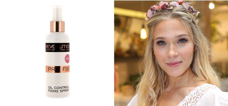 Elimina los brillos del maquillaje con el spray de Revolution