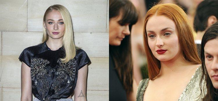 El cambio de looks de la actriz Sophie Turner