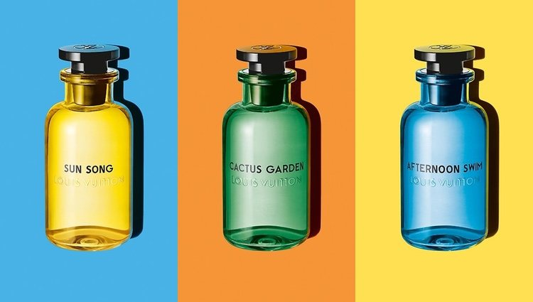 Perfumes 'Sun Song', 'Afternoon Swim' y 'Cactus Garden' y Louis Vuitton