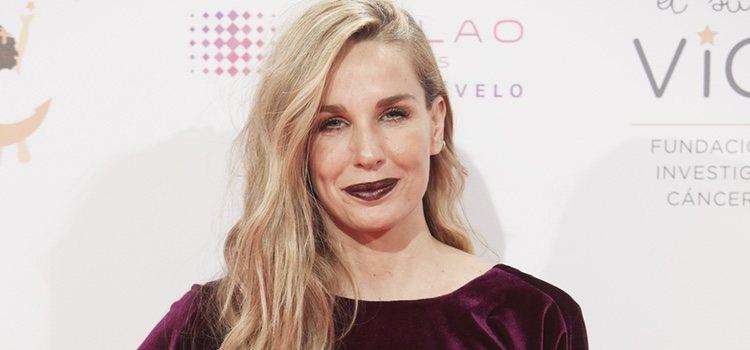 La actriz Carola Baleztena acudió con un efecto de ojos hundidos</p><p>