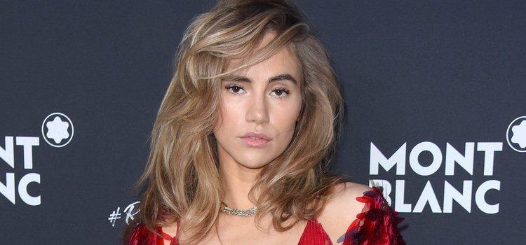 La modelo Suki Waterhouse con el pelo despeinado</p><p>