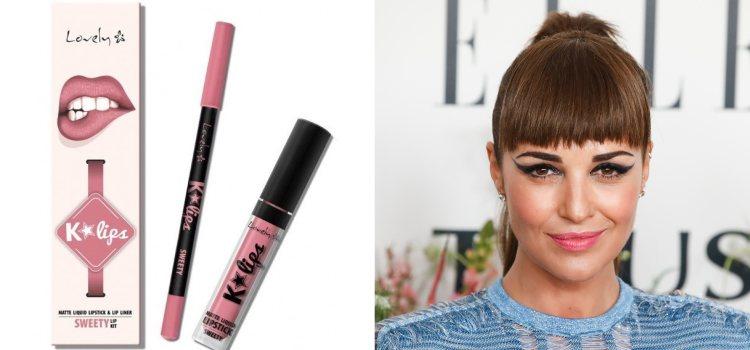 Lovely MakeUp ofrece un et de lápiz de labios y labial líquido muy económico